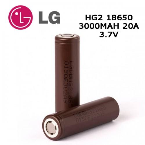 LG HG2 18650 3000mah Battery 20A
