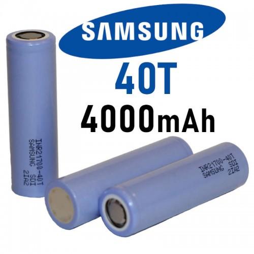 Samsung 40T 21700 4000mah Battery 30A