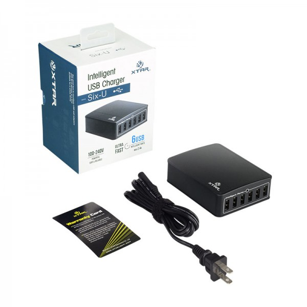 Xtar 6-Port 45W Φορτιστής USB