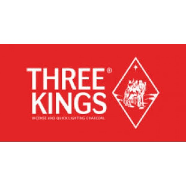 Three Kings Κάρβουνα Ναργιλέ Ταχείας Καύσης 40mm
